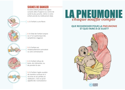 Pneumonia Education - African Muslim French - Caregiver Flier