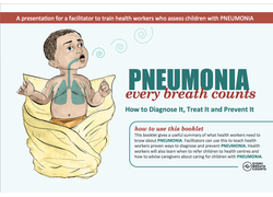 Pneumonia Education - South Asian English - Health Worker Training (without amoxicillin)
