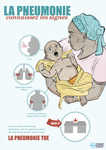 Pneumonia Education - African French - Caregiver Poster