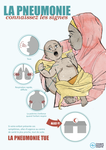 Pneumonia Education - African Muslim French - Caregiver Poster