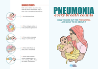 Pneumonia Education - Asian English - Caregiver Flier