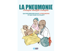 Pneumonia Education - African French - Health Worker Flier
