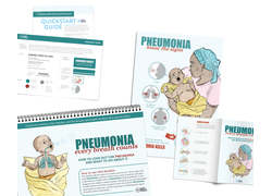 Pneumonia Education - African Muslim English - Caregiver Kit