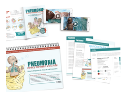 Pneumonia Education - African English - Health Worker Kit