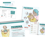 Pneumonia Education - African French - Caregiver Kit