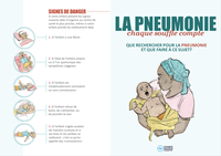 Pneumonia Education - African French - Caregiver Flier